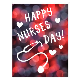 happy nurses day postcard