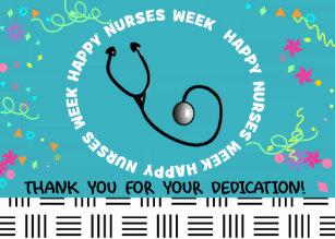 National nurses week cards zazzle ca happy nurses week card iii m4hsunfo