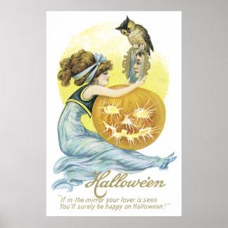Happy On Halloween Poster