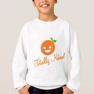 Happy Orange Sweatshirt