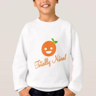 Happy Orange Sweatshirt