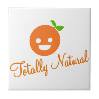 Happy Orange Tile