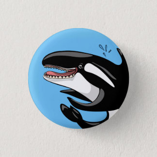 Happy Orca Button