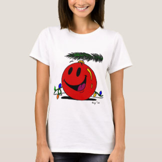 Happy Ornament Womens T-Shirt