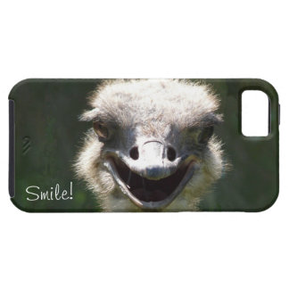Happy Ostrich, Smile!-Fun iPhone 5 Cases