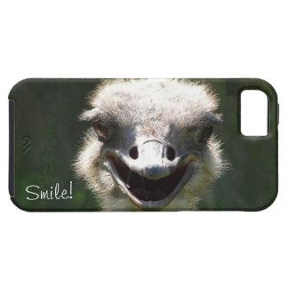 Happy Ostrich, Smile!-Fun iPhone 5 Cover