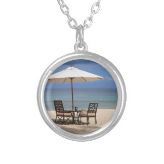 Happy Out Silver Plated Necklace