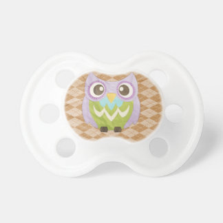 Happy Owl Pacifier