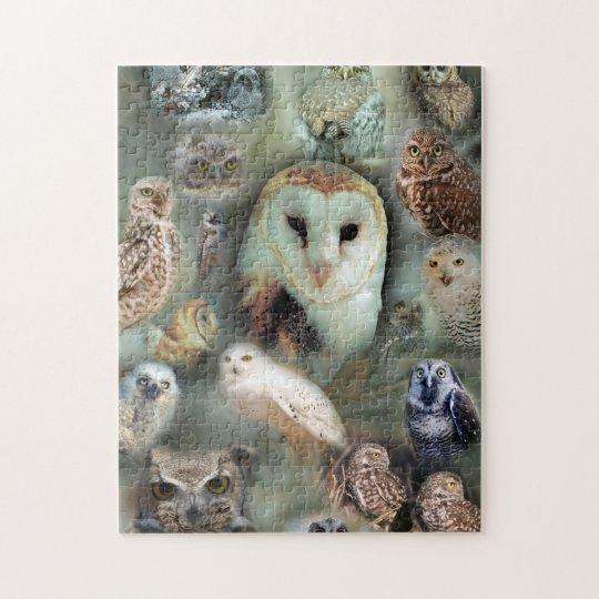 Happy Owls jigsaw puzzle