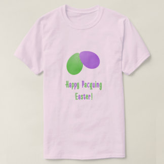 Happy Pacquing Easter Funny Cajun Easter Egg Tee
