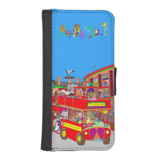 Happy Palm Island Tours by The Happy Juul Company iPhone SE/5/5s Wallet Case