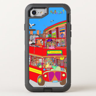 Happy Palm Island Tours by The Happy Juul Company OtterBox Defender iPhone 8/7 Case