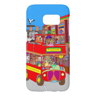 Happy Palm Island Tours by The Happy Juul Company Samsung Galaxy S7 Case