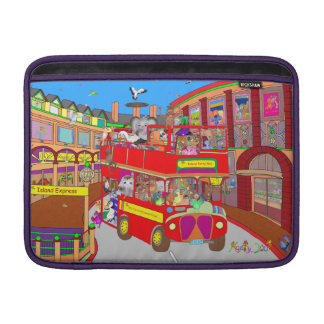 Happy Palm Island Tours by The Happy Juul Company Sleeve For MacBook Air