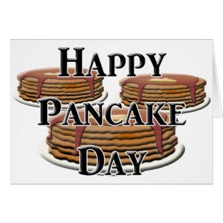 Happy  Pancake Day Card