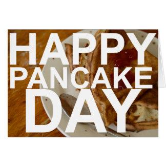 Happy Pancake Day! Card