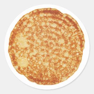 Happy Pancake Day! Classic Round Sticker