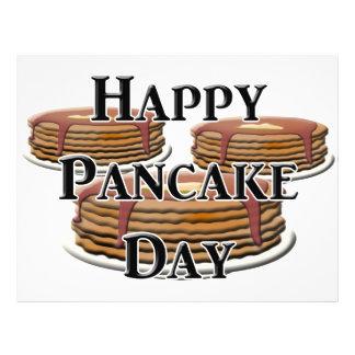 Happy Pancake Day Custom Flyer