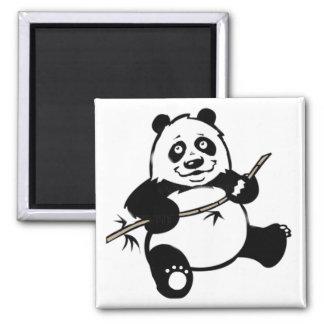 Happy Panda Bear Magnet