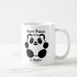 Happy Panda Classic White Coffee Mug