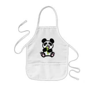 Happy Panda Kid's Apron