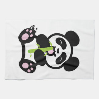 Happy Panda Kitchen Towel