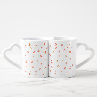 Happy Particles Coffee Mug Set
