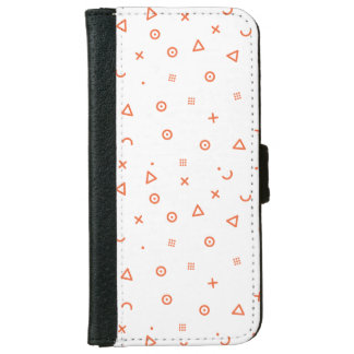 Happy Particles iPhone 6 Wallet Case