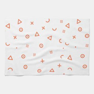 Happy Particles Kitchen Towel