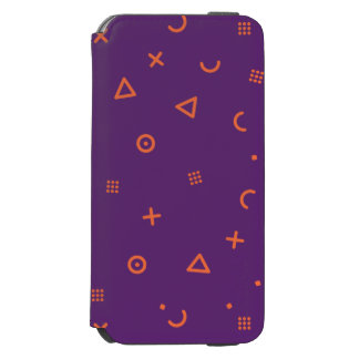 Happy Particles Purple Incipio Watson™ iPhone 6 Wallet Case
