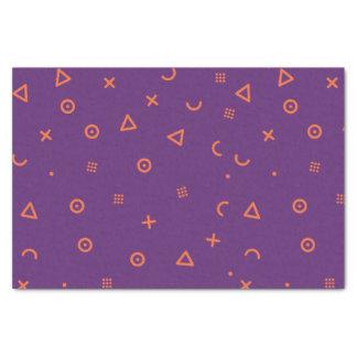 Happy Particles Purple Tissue Paper