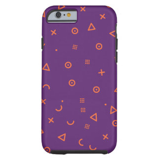 Happy Particles Purple Tough iPhone 6 Case