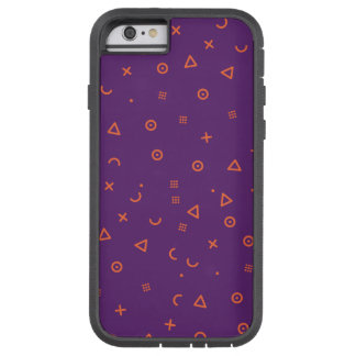 Happy Particles Purple Tough Xtreme iPhone 6 Case