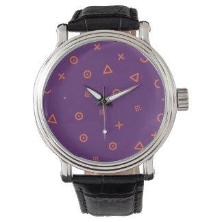 Happy Particles Purple Watch