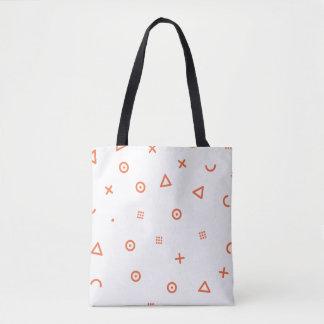 Happy Particles Tote Bag