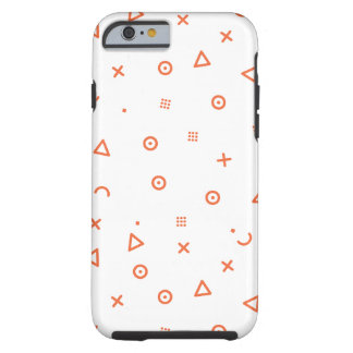 Happy Particles Tough iPhone 6 Case