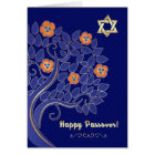 Happy Passover. Customizable Greeting Cards