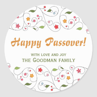 Happy Passover - Gif Label