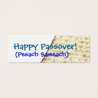 Happy Passover Matzoh Gift Tag