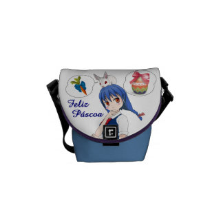 Happy Passover (Personalizável) Courier Bag