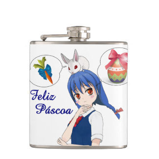 Happy Passover (Personalizável) Hip Flask