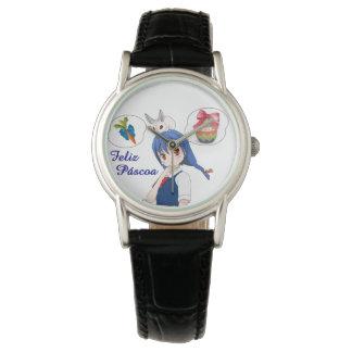 Happy Passover (Personalizável) Wrist Watch