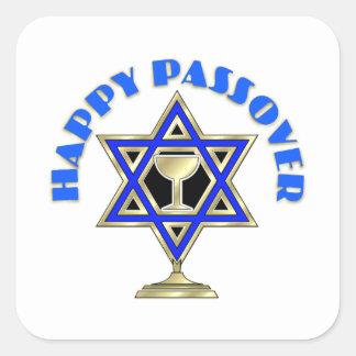 Happy Passover Square Sticker