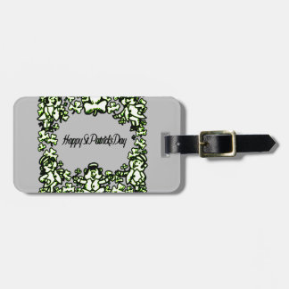 Happy Patrick s Day 2 Luggage Tag