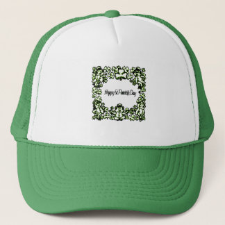 Happy Patrick s Day 2 Trucker Hat