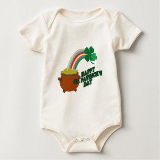 Happy Patrick s Day Baby Bodysuit