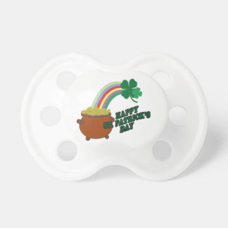 Happy Patrick s Day Baby Pacifier
