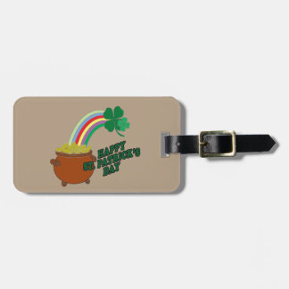 Happy Patrick s Day Luggage Tag