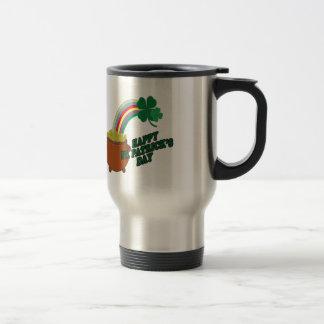 Happy Patrick s Day Travel Mug