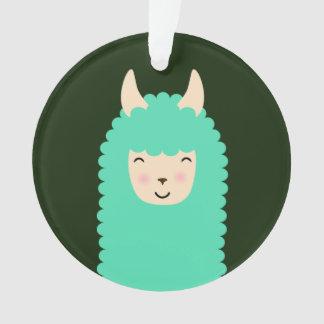 Happy Peekaboo Llama
